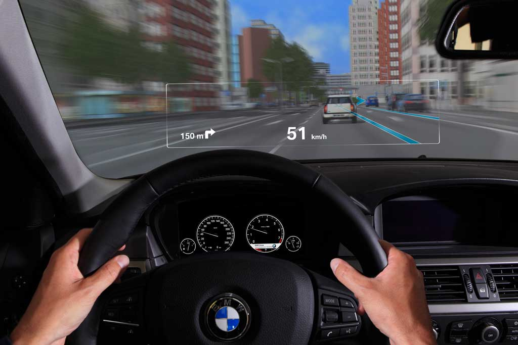 BMW Group Developing Augmented Reality Windshield Displays ...