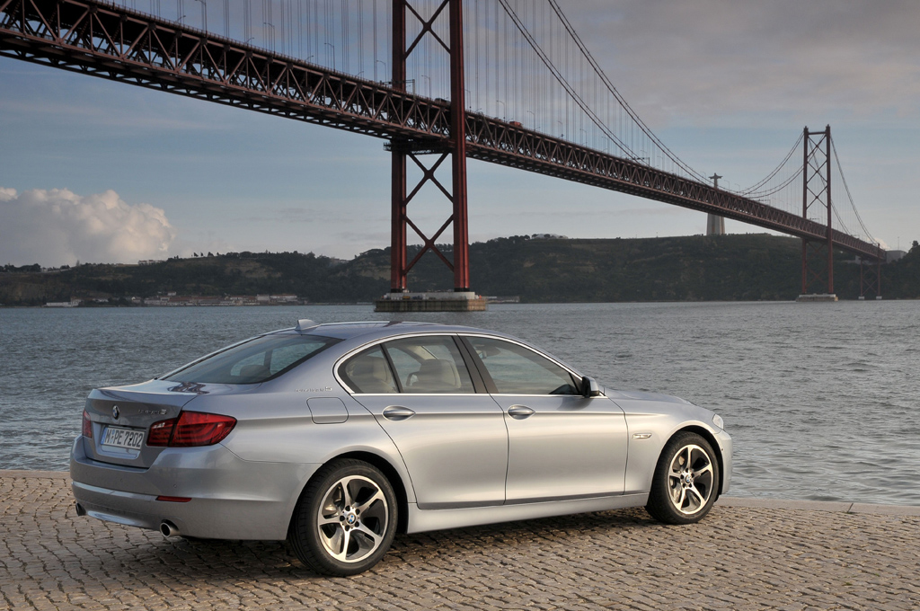 Bimmerfile Review Activehybrid 5 Series Bimmerfile