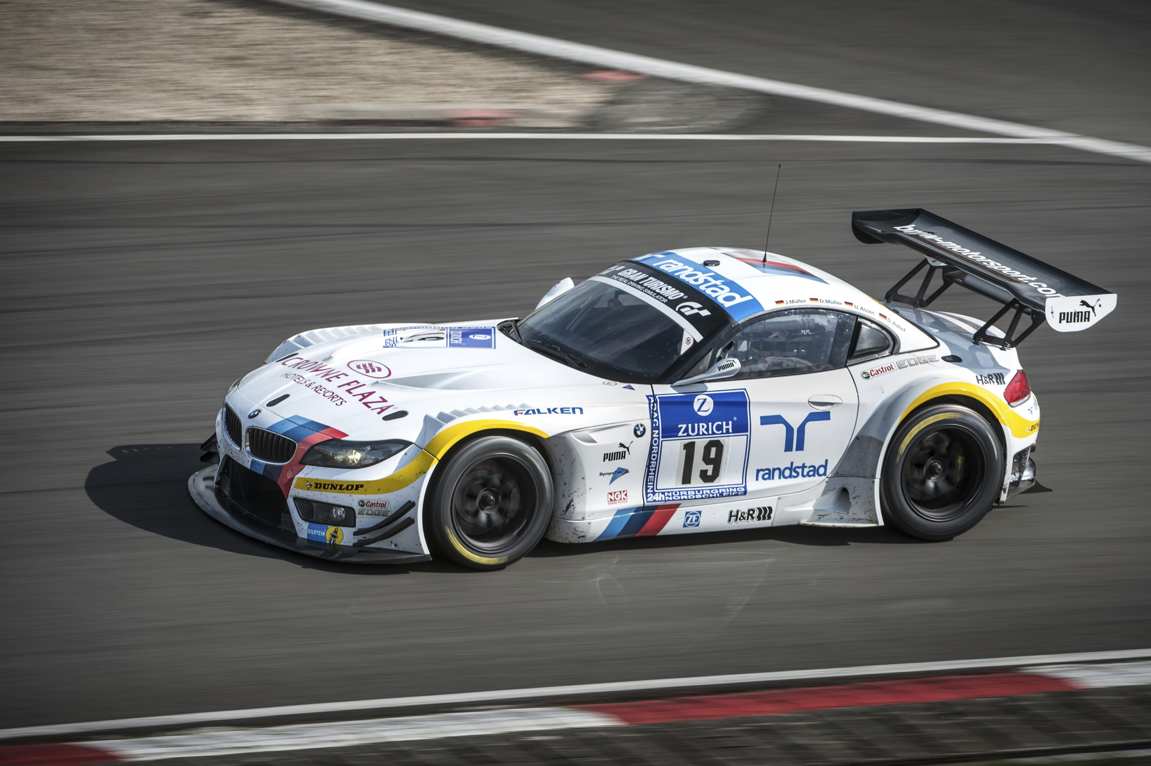 Official Bmw To Race Z4 In Alms Bimmerfile