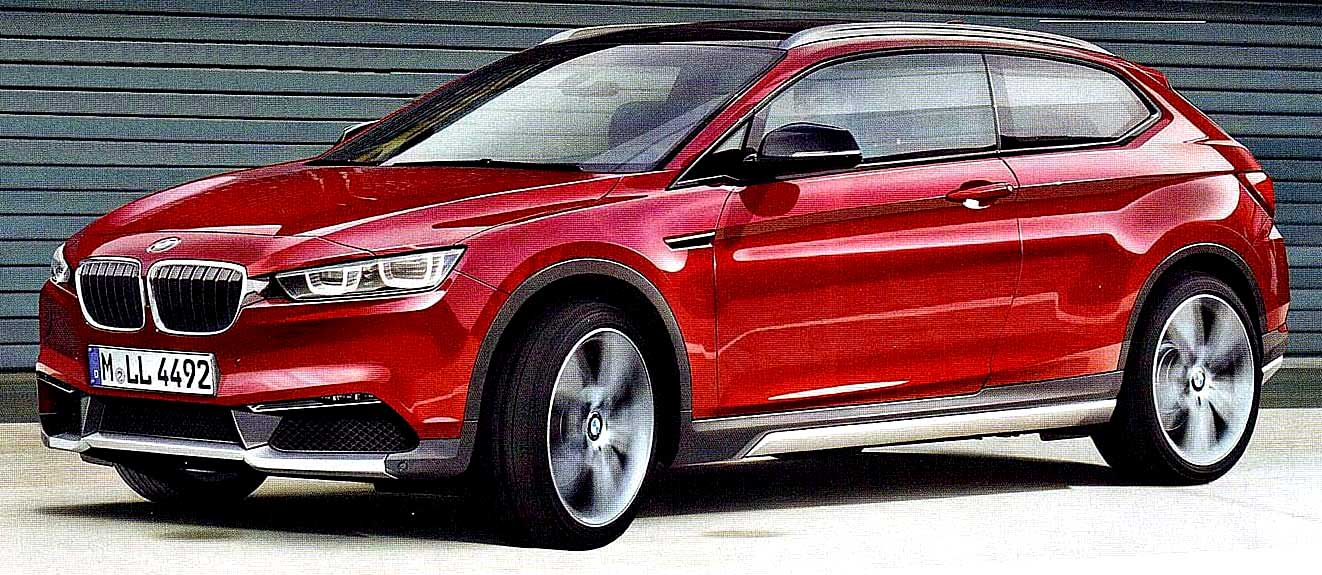 The X2 BMWs Future Compact Crossover Coupe
