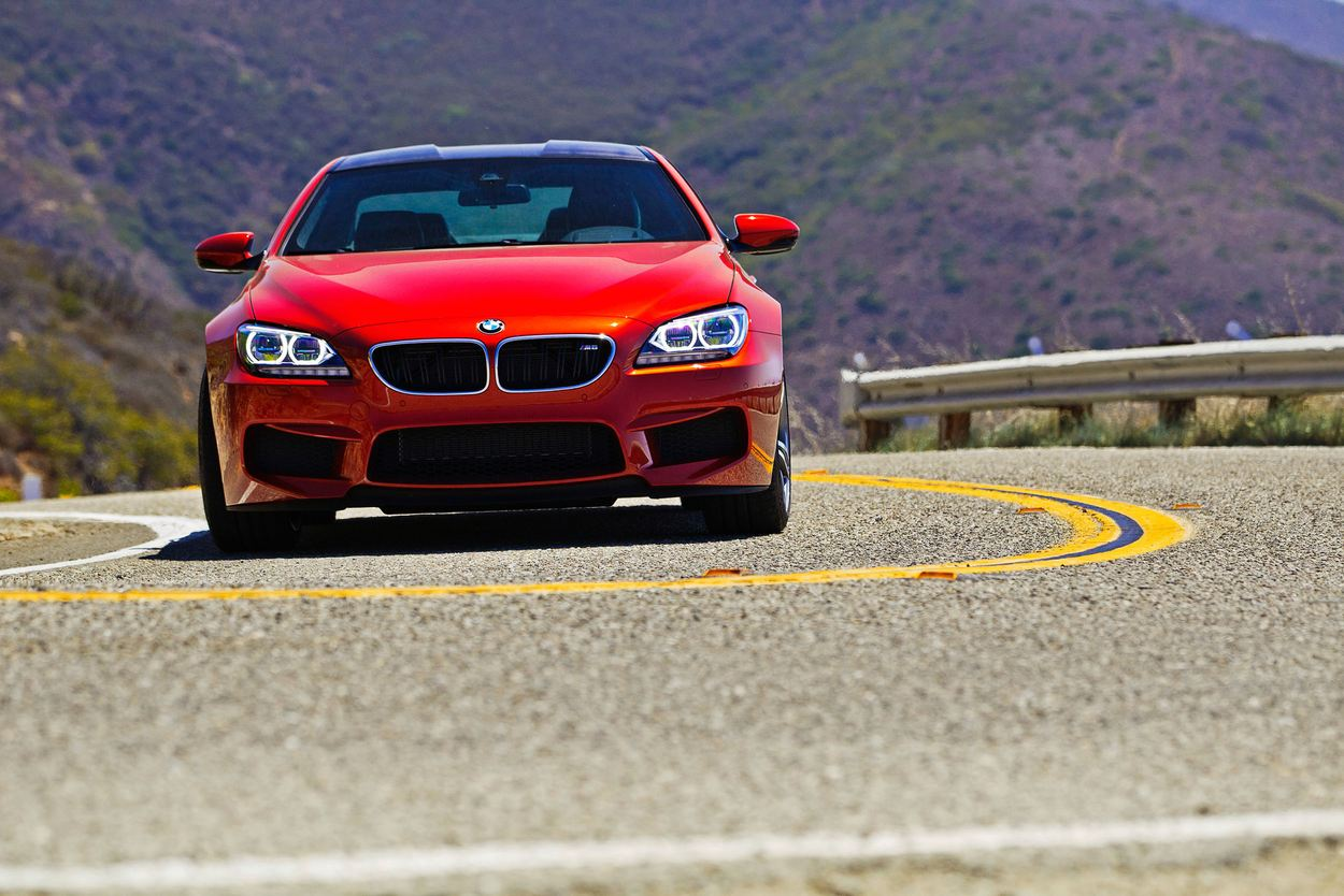 2013 BMW M6 Coupe.