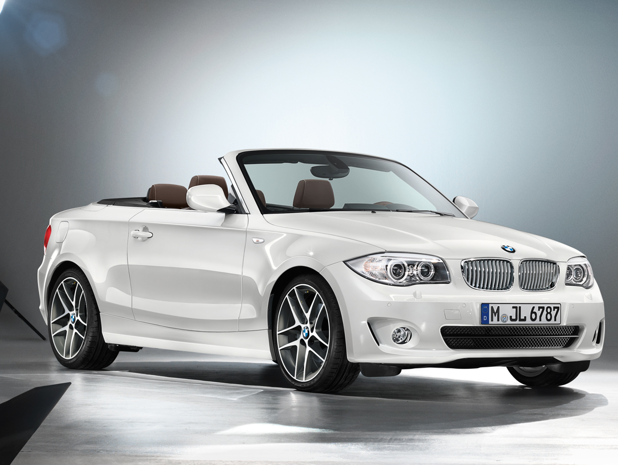 bmw announces 1 series coupe & convertible limited edition