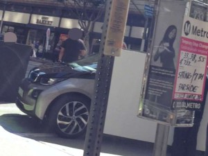 Production BMW i3 Spied
