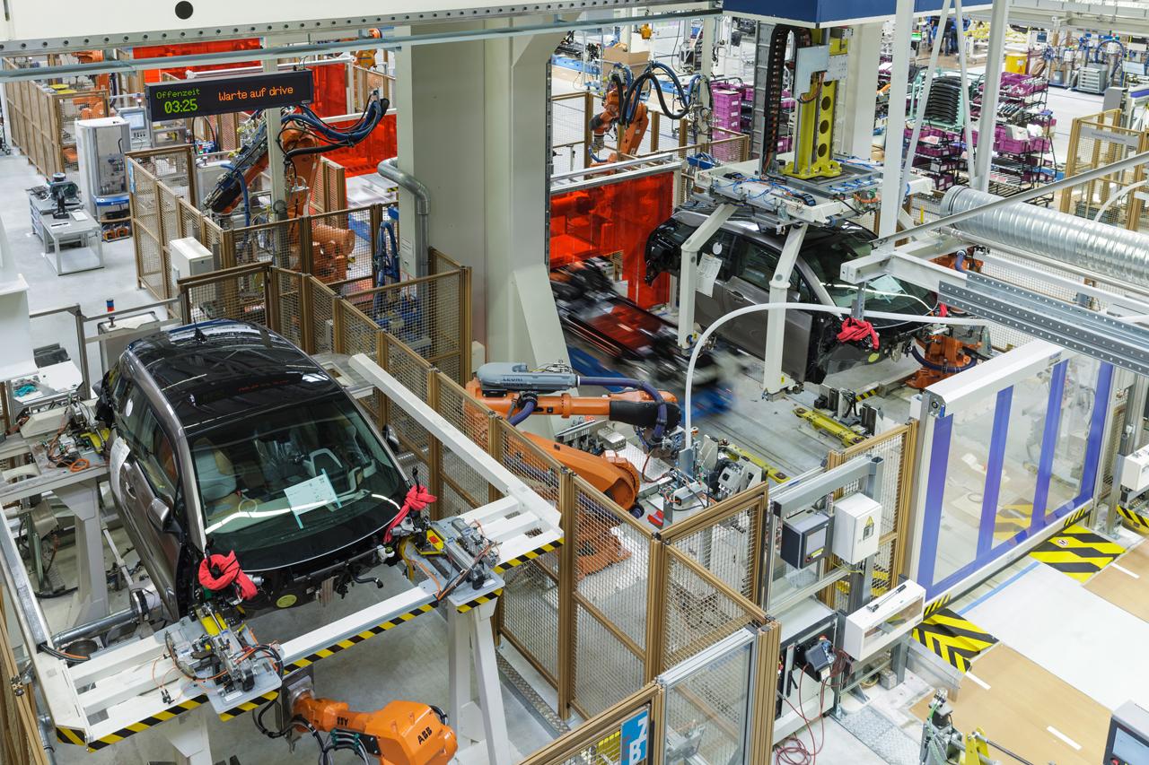 Produktion BMW i3 in Leipzig