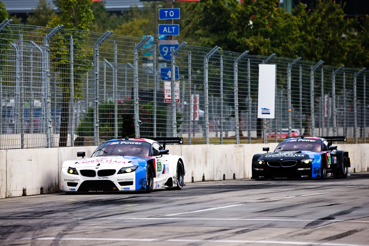 BMW Team RLL at 2103 ALMS at Grand Prix of Baltimore, round 7 of 10.