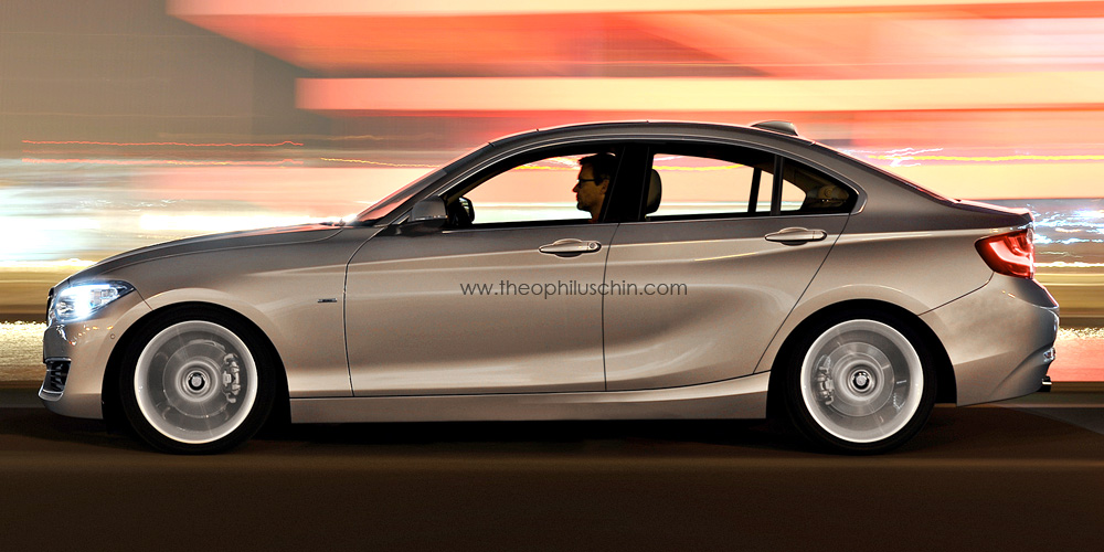 Rumor BMW Approves Series Four Door Gran Coupe BimmerFile - 2 door bmw