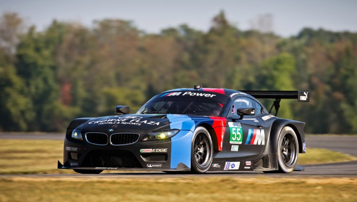 BMW Team RLL at 2013 ALMS at Oak Tree Grand Prix at VIR, Round 9 of 10.