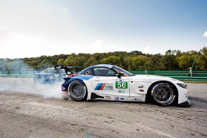 BMW Team RLL at 2013 ALMS at Oak Tree Grand Prix at VIR, Round 9 of 10.