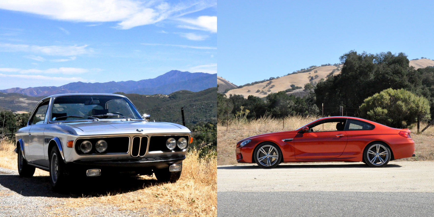 1972 3.0 CSL vs 2014 M6 Competition – Does 40 Years Equal Progress?