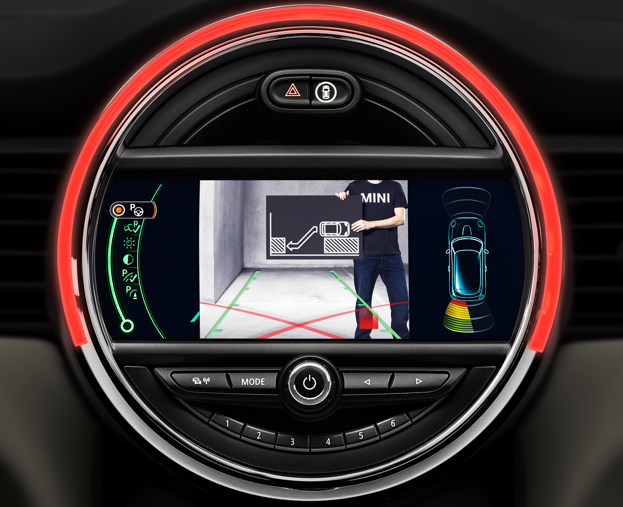 An Early Look At The F56 Mini S Driver Assistant Systems