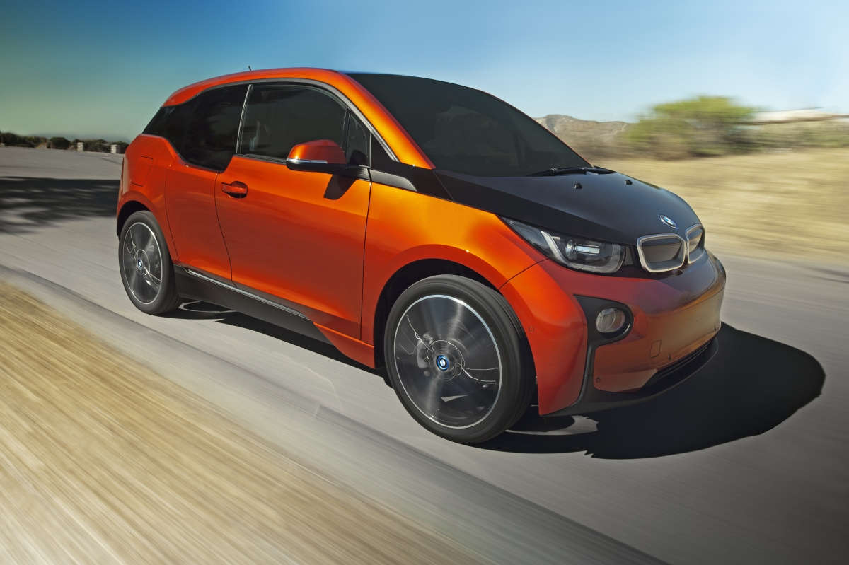 The BMW i3 Wins the Green Car of the Year Award