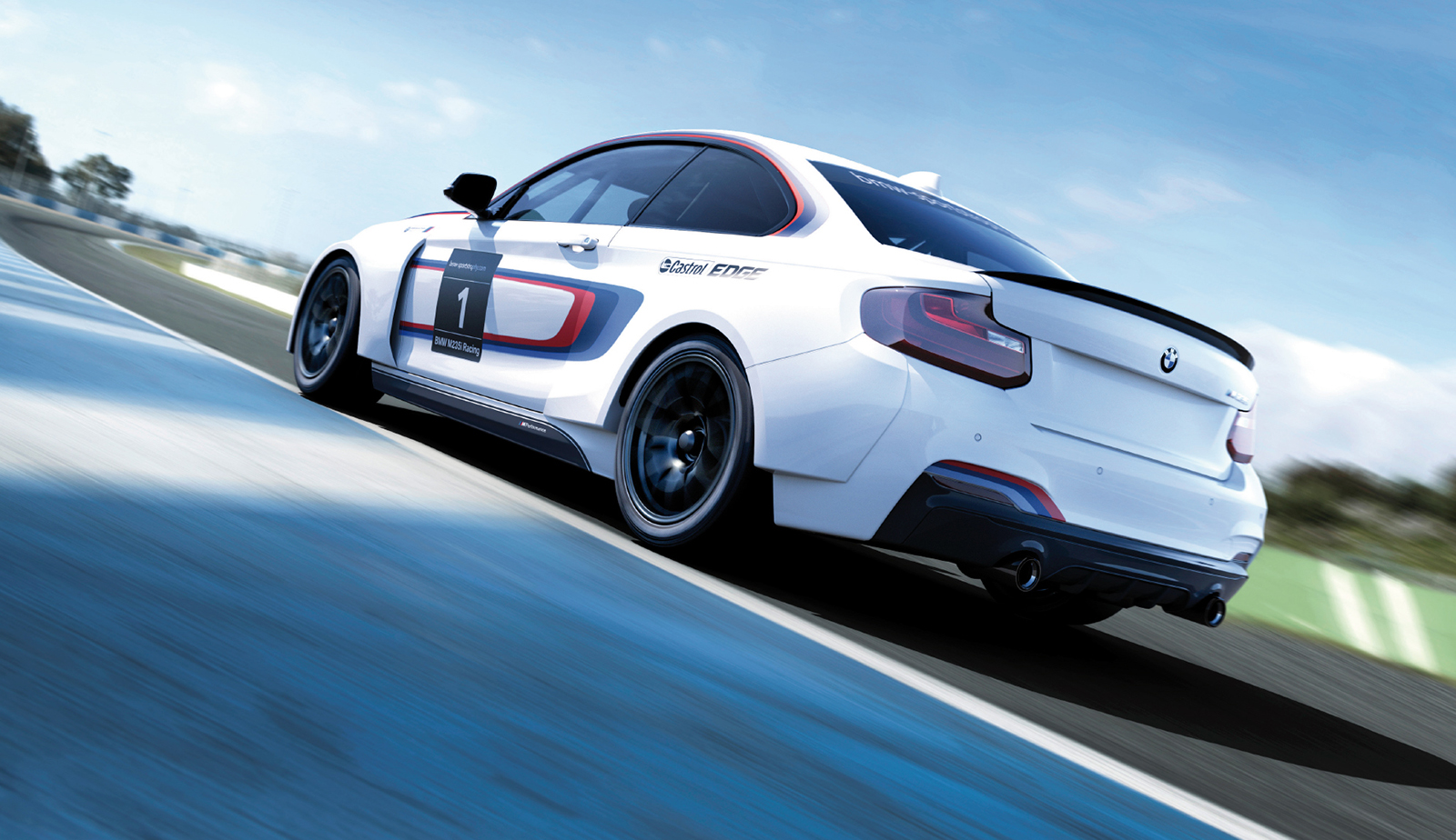 BMW M235i Racing Specs Revealed Race Car 03