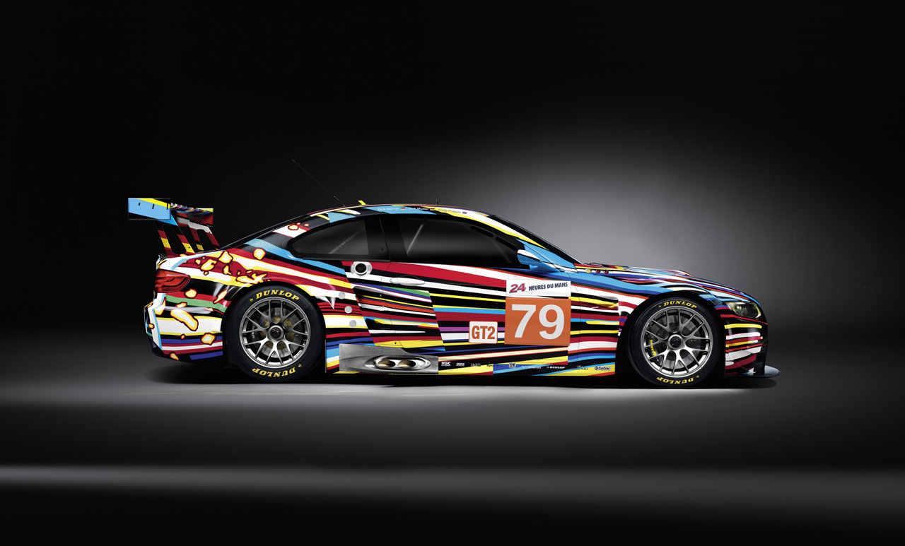 The Creator of BMW's Art Car Interviewed