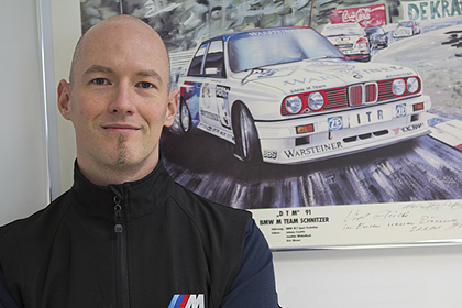 Benedikt Nussstein is responsible for the development of the new M Servotronic for the BMW M3 and BMW M4.