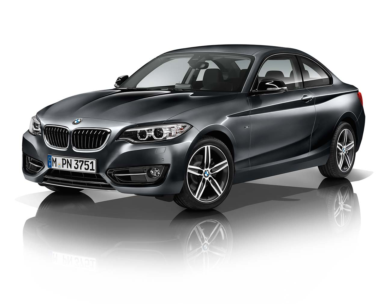 Premier BMW I Coupe With Track Handling Package BimmerFile - Bmw 228i