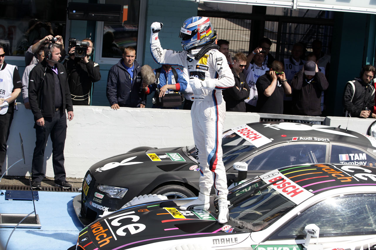 BMW Team RMG & Marco Wittmann Wins the DTM Title