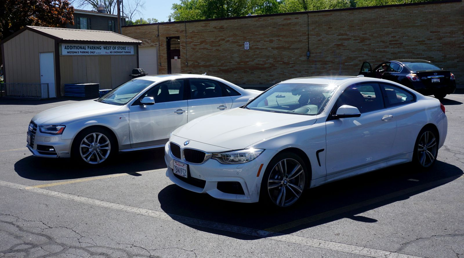 BF Review The BMW I XDrive Vs The Audi S BimmerFile - Bmw 435i gran coupe xdrive