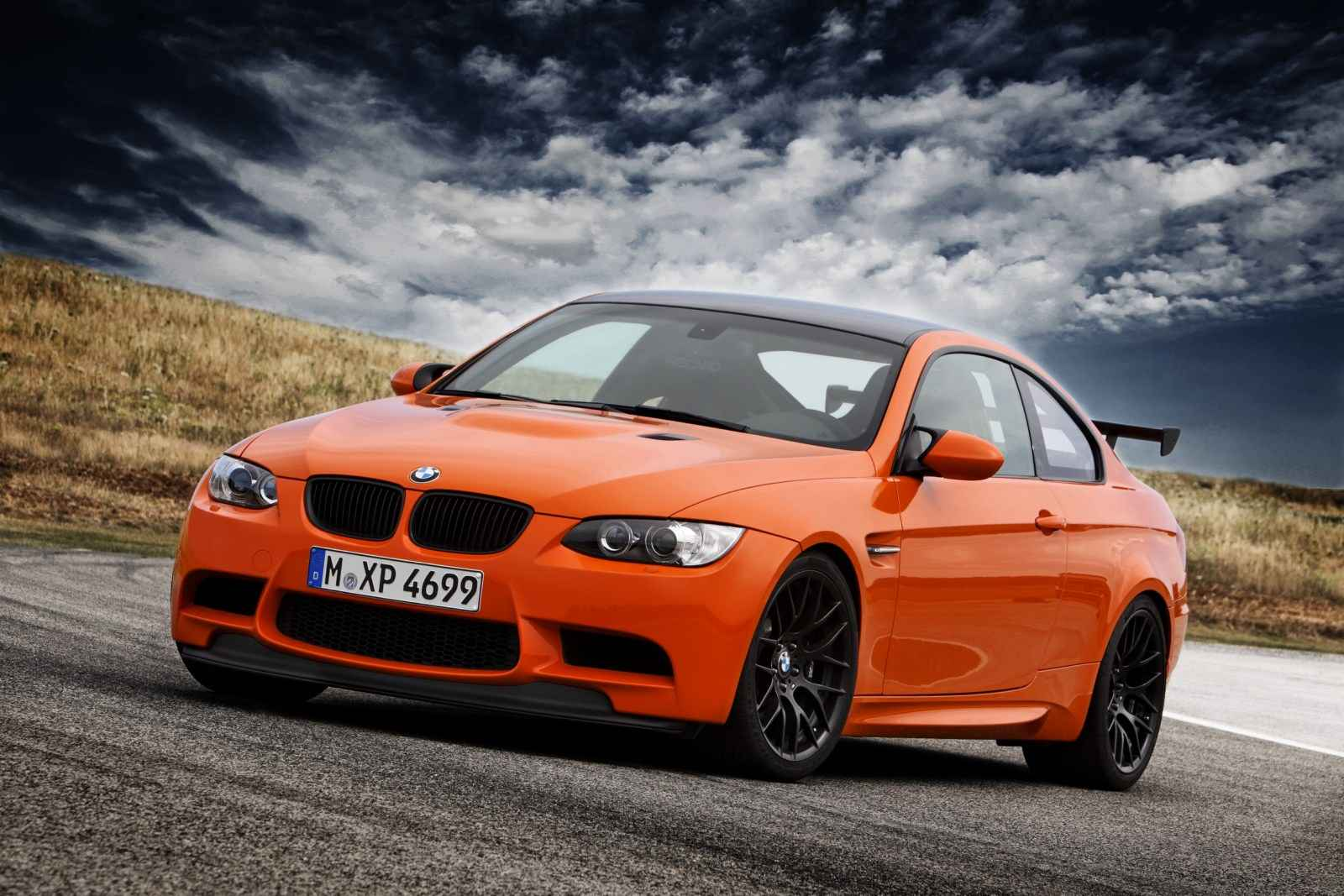 Bmw M3 2014 Coupe Orange Full Hd Eazy Wallpapers