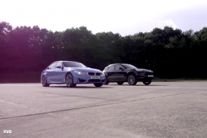 Drag Battle: The Porsche Macan Turbo vs the BMW M3
