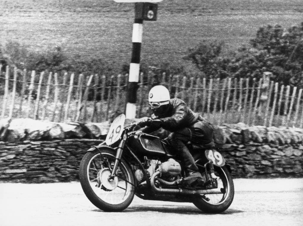 BMW Motorrad at the Isle of Man