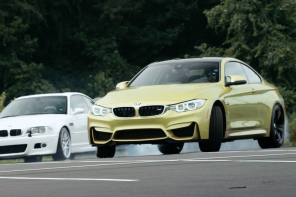 The BMW M4 Drifts Through M History