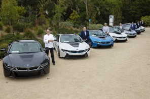 BMWNA Delivers First i8s To a Wide Range of Well Known Buyers