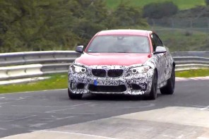 The BMW M2 Caught Testing on the 'Ring Ahead of a December Debut