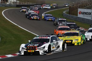 BMW Double Podiums in DTM at Zandvoort While Winning the Team Title