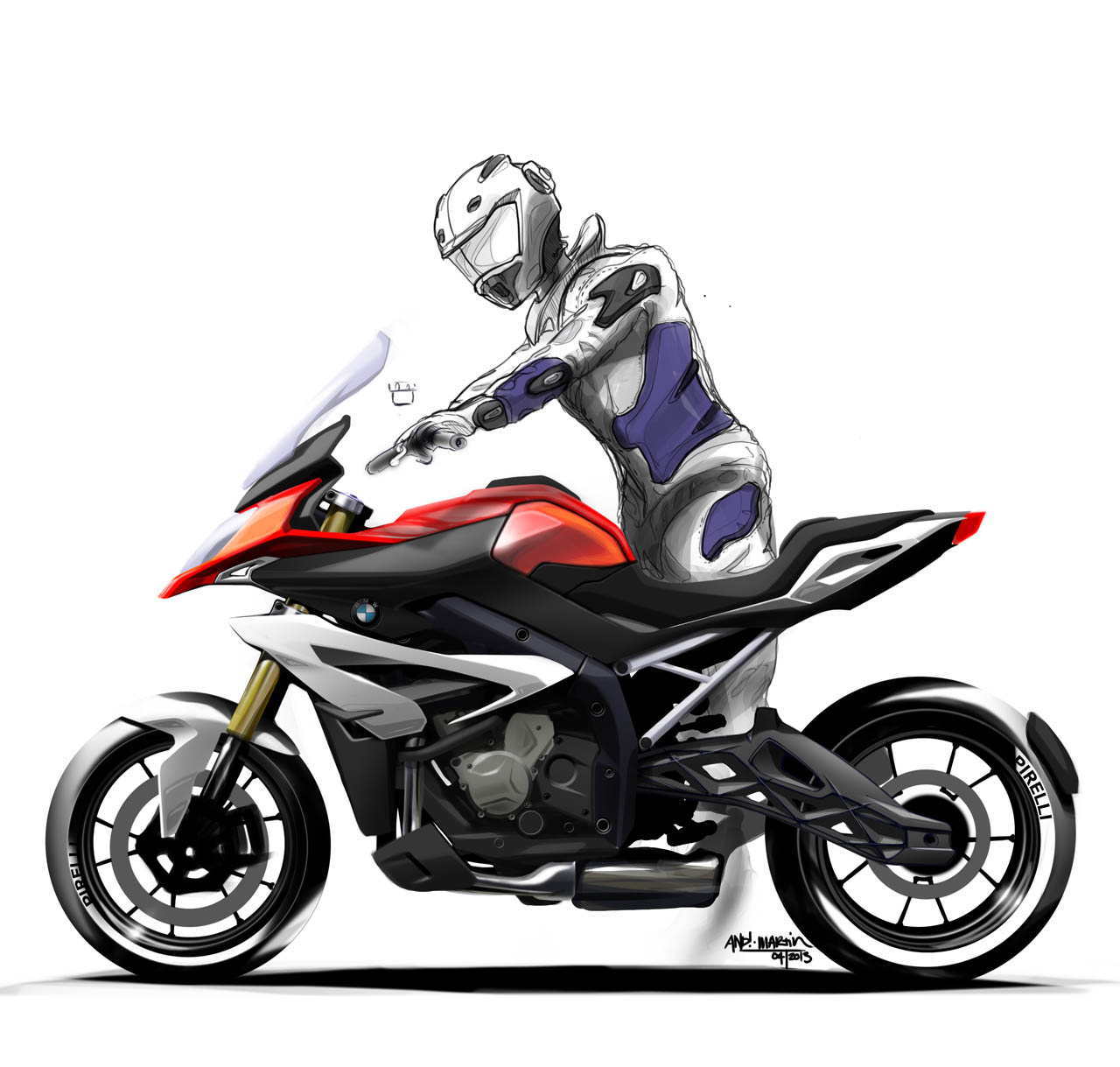 World Debut: The 2015 BMW S1000XR (With Gallery