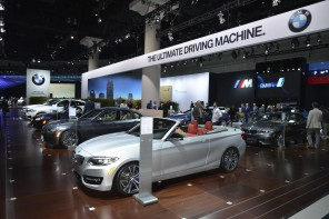 Video & Photo Recap of BMW at the LA Autoshow