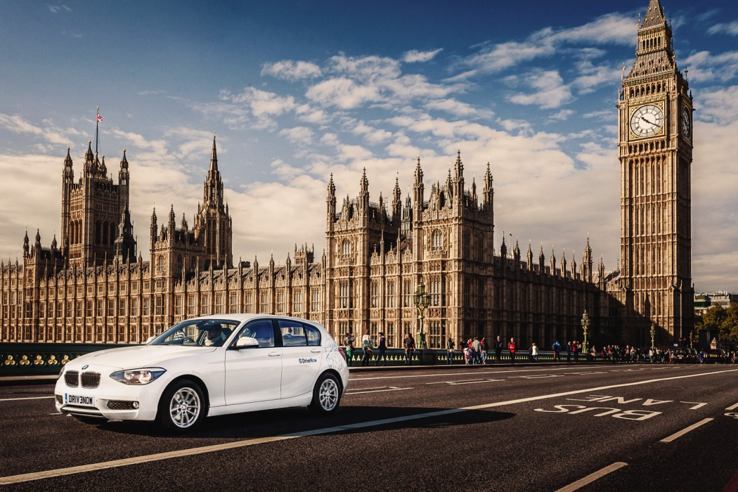 DriveNow is a carsharing joint venture by BMW Group and Sixt SE