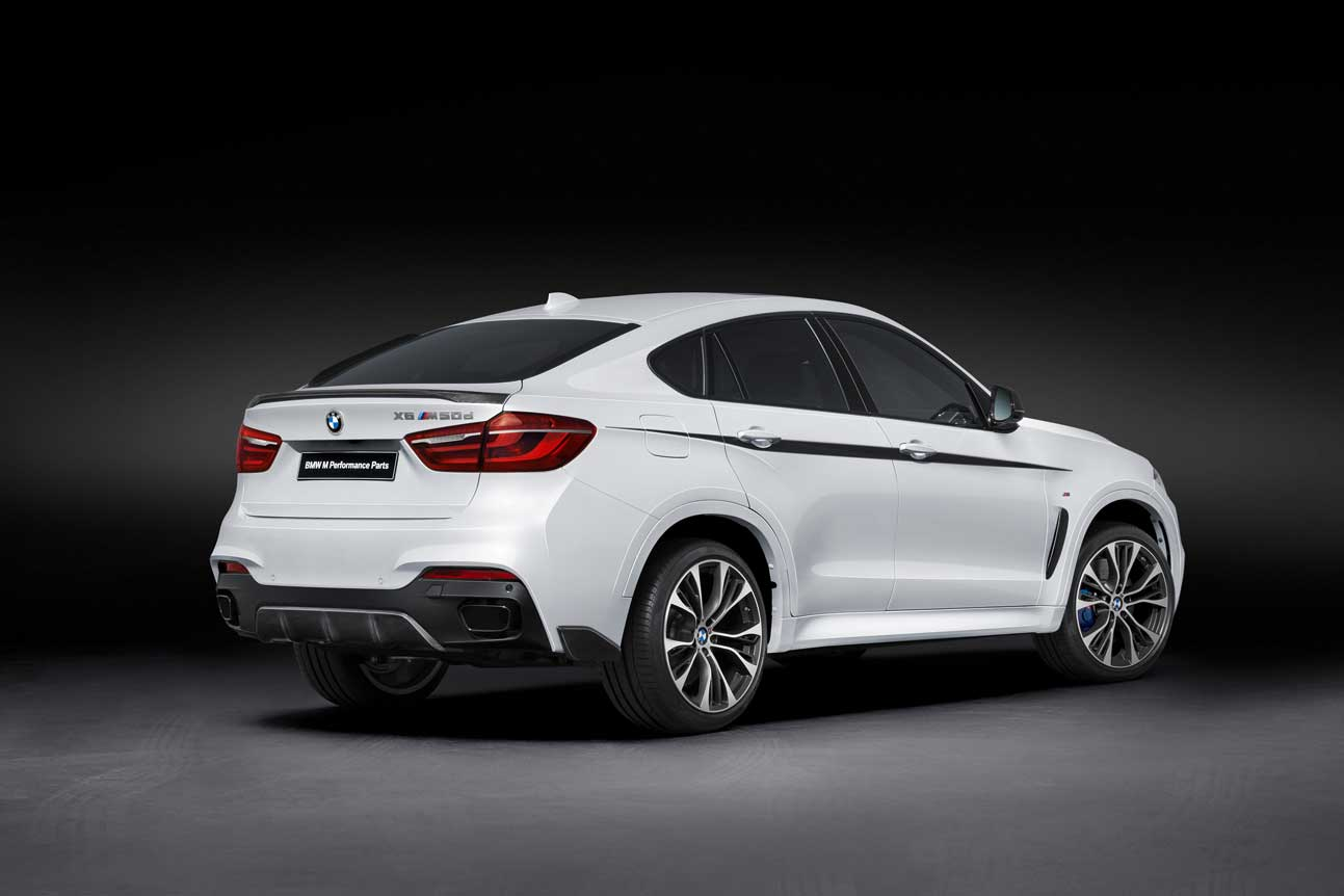 Bmw Releases M Performance Parts For The Bmw X6 Bimmerfile