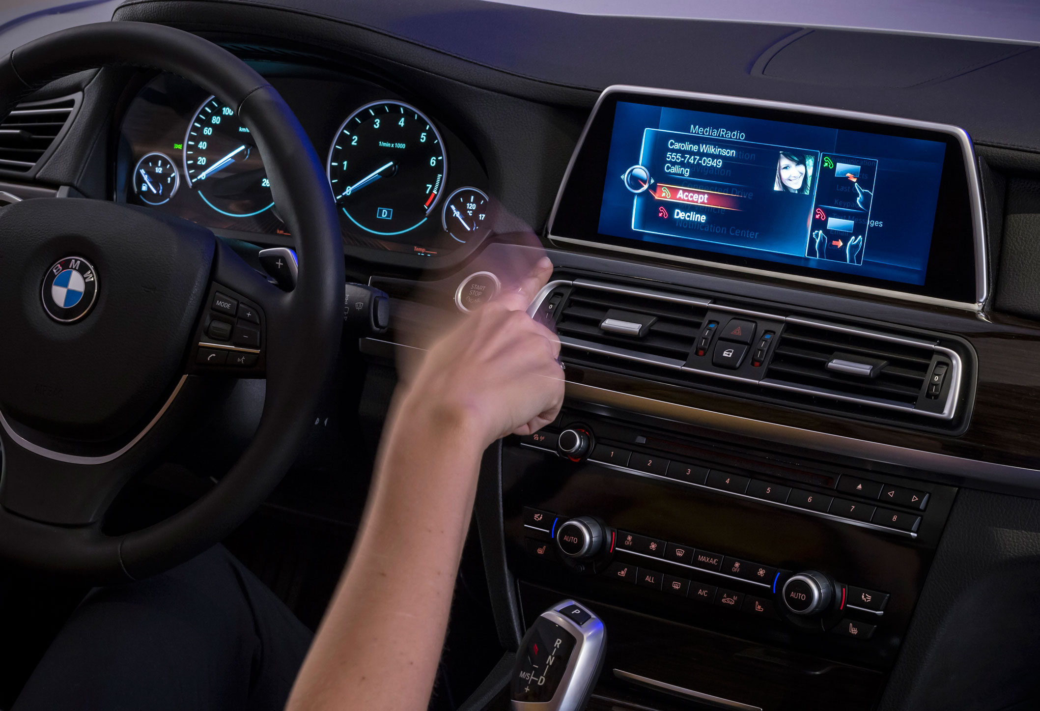 Touchscreen Infotainment Systems Coming To Bmws Idrive