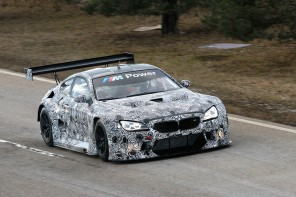 The BMW M6 GT3 Begins Testing Ahead of 2016 Season