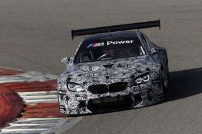 The BMW M6 GT3 Completes First Test Ahead of 2016 Launch