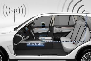 "BMW Premiers ""Vehicular Small Cell"" at the Mobile World Congress"