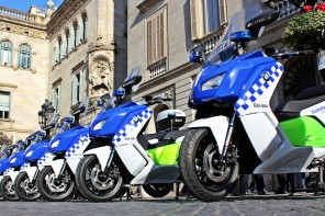 Police in Barcelona Adopt Fleet of BMW C Evolution Electric Scooters