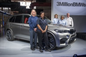 3 Million BMWs Produced At Spartanburg Factory