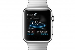 World Premier: BMW ConnectedDrive Moves the Wrist with the Apple Watch