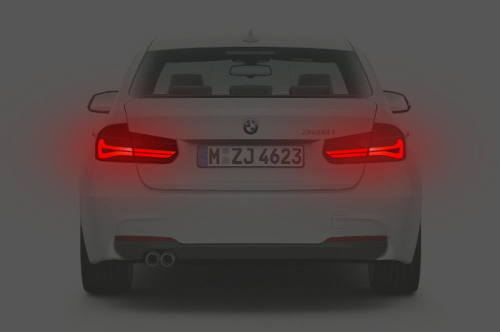 The 2016 BMW 3 Series LCI Lighting Rendering