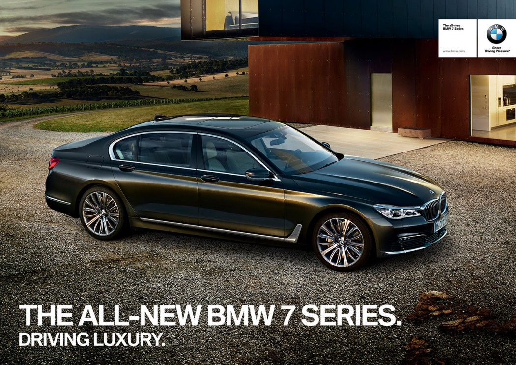BMW Rolls Out New 7 Series Ad Campaign