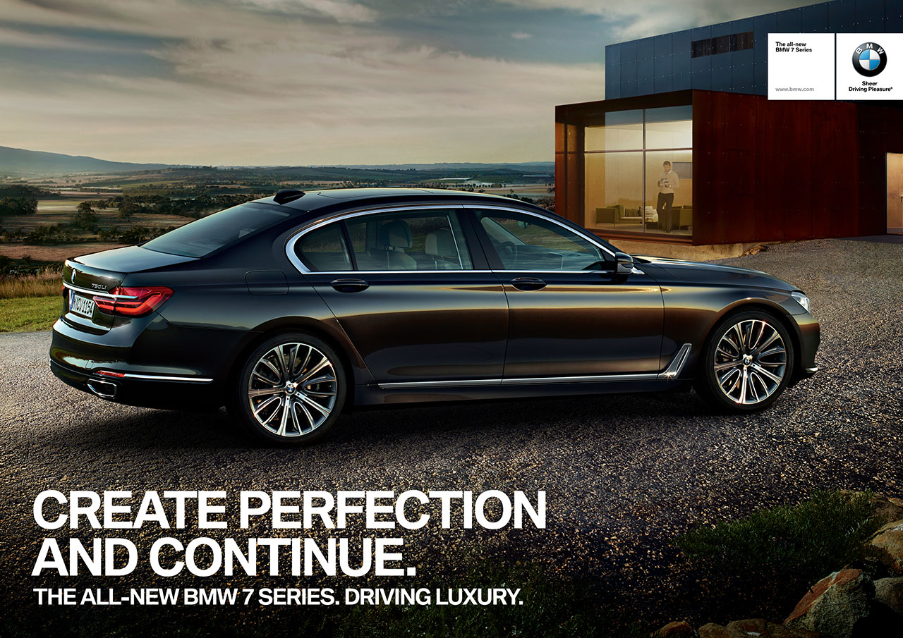 bmw rolls out new 7 series ad campaign bimmerfile. Black Bedroom Furniture Sets. Home Design Ideas