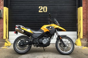 New in the BF Garage: BMW G650 GS