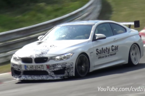 The BMW M4 GTS Undergoes Final Testing at the 'Ring