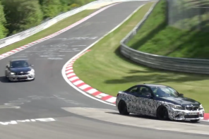 Video: The BMW M2 at the Testing at the 'Ring
