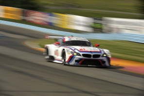 BMW Team RLL Survives to Finish on the Podium at the Glen