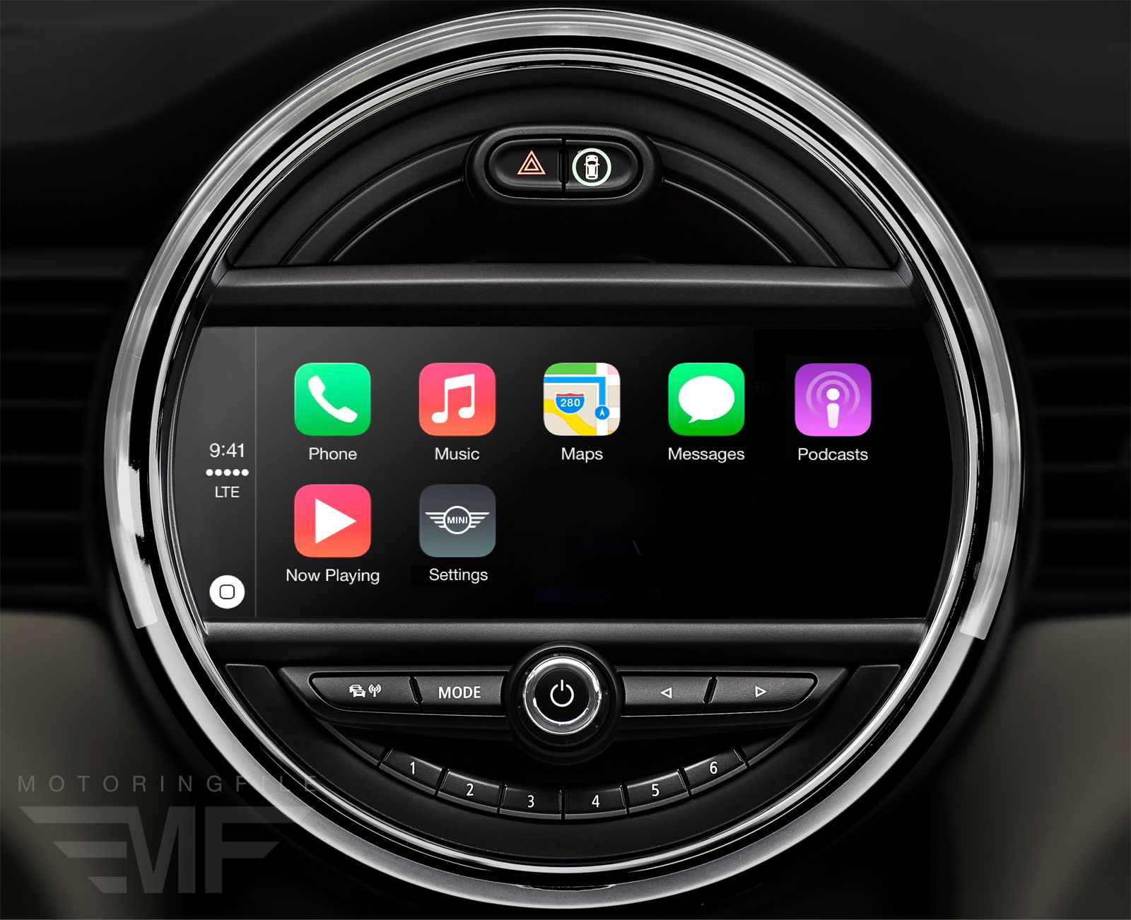 carplay is coming to bmw with touchscreen idrive bimmerfile. Black Bedroom Furniture Sets. Home Design Ideas