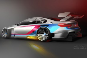 BMW Motorsport Announces Plans for the BMW M6 GTLM