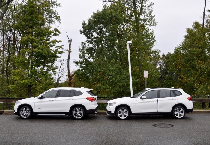 Bf Review 2016 Bmw X1 Vs The 2015 Bmw X1 Bimmerfile
