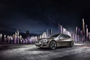 World Premier: BMW Concept Compact Sedan